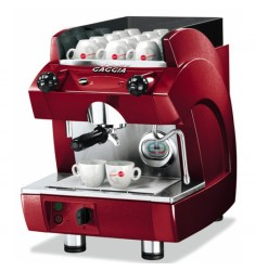 Gaggia GD ONE, rood.